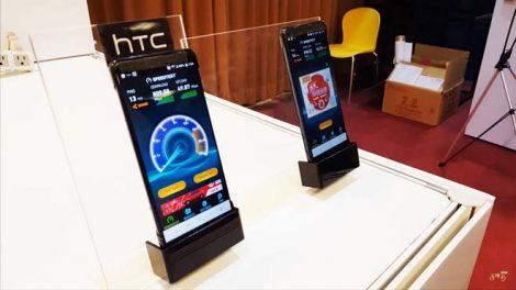 El próximo teléfono insignia de HTC, el HTC U12 (o HTC Imagine), puede haber sido visto en un evento así como el que no quiere la cosa. Se cree que el teléfono fue exhibido en un evento enfocado a redes 5G en Taiwán (a través de @evleaks), donde HTC mostró las capacidades de la nueva red móvil.