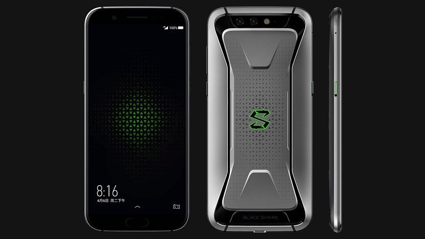 Xiaomiha introducido al Black Shark por delante de los actuales buques insignia de la surcoreana Samsung Xiaomi Black Shark Samsung Galaxy S9+ Samsung Galaxy S9 Xiaomi Mi Mix 2S Nubia Red Magic Huawei Mate 10 Pro Huawei Mate 10 Honor V10 OnePlus 5T OnePlus 5