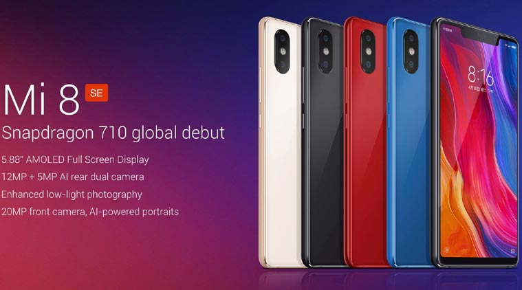 El mejor hardware de toda la gama media Otra de las cosas que hacen que el Xiaomi Mi 8 SE sea la joya de la gama media de Xiaomi, son sus especificaciones, que son las mejores que puedes encontrar en un terminal de gama media en la actualidad. Y ahora verás por qué.  Xiaomi Mi 8 SE Pantalla 5,88 pulgadas AMOLED Resolución y densidad Full HD+ 2248 x 1080 píxeles. 18,7:9 Procesador Qualcomm Snapdragon 710 de 10 nm y 8 núcleos RAM 4 GB o 6 GB Sistema operativo MIUI 10 basado en Android 8 Oreo Almacenamiento 64 GB Cámaras Trasera dual de 12 + 5 MP. Frontal de 20 MP f/2.0 Batería 3.150 mAh con carga rápida Otros Lector de huellas trasero, NFC, GPS Dual, Face ID El Qualcomm Snapdragon 710 es el procesador que nutre este terminal, y actualmente es lo mejor que tiene Qualcomm para la gama media, es decir, el rendimiento está muy cerca de la gama alta actual. Y los 4 GB o 6 GB de memoria RAM que le acompañan van a potenciar este rendimiento en gran medida.  La pantalla del Xiaomi Mi 8 SE, como te hemos dicho, es de tecnología AMOLED y cuenta con un tamaño de 5,88 pulgadas a resolución Full HD, ideal para consumir contenido multimedia a raudales, pero garantista respecto a la autonomía gracias a la batería de 3.150 mAh y a la resolución de su pantalla.  Es bastante evidente que el Xiaomi Mi 8 SE goza de mejores recursos que los Redmi, o incluso que el Xiaomi Mi 6X, que hasta ahora era el mejor gama media del catálogo de la firma china. ¿Supone esto el inicio de una nueva familia de terminales complementaria de cada gama alta que lance?