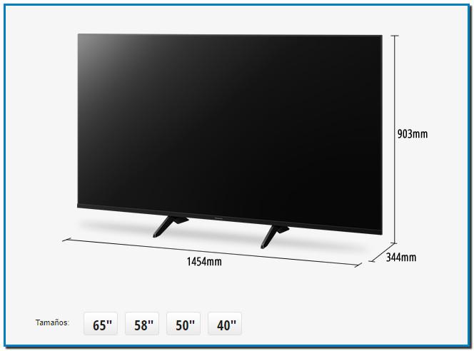Televisor LED LCD TX-65GX700. COMPRAR Televisores TV LED TX-65GX700. Un diseño elegante que combina con un fantástico rendimiento HDR Este televisor LED 4K de 2019 con tecnología Bright Panel HDR presenta unas imágenes increíbles en calidad 4K HDR.