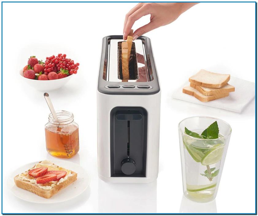 Tostador PurEase HT 3100 un tostador Braun es un auténtico imprescindible en cualquier mesa de desayuno