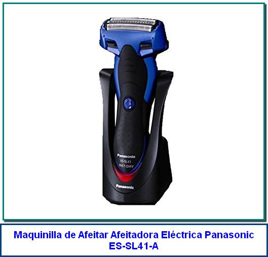 Panasonic ES-SL41-A, rasuradora eléctrica en húmedo/seco para hombres con 3 cuchillas, con recortadora desplegable, azul. de Panasonic 3.2 de 5 estrellas 36 calificaciones Precio: US$101.18 Devoluciones de 30 días en la mayoría de los casos Eliminado por el fabricante Exterior de aluminio, vibración ultra fina. Las únicas ventanillas de agua permiten un mantenimiento rápido y fácil. Operación inalámbrica en húmedo y seco que se puede usar en la ducha. Lámina multi-arc le permite mover el cabezal de afeitado.