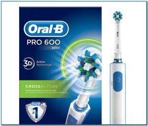 Comprar Cepillo De Dientes Eléctrico Oral-B PRO 600 CrossAction en Andorra