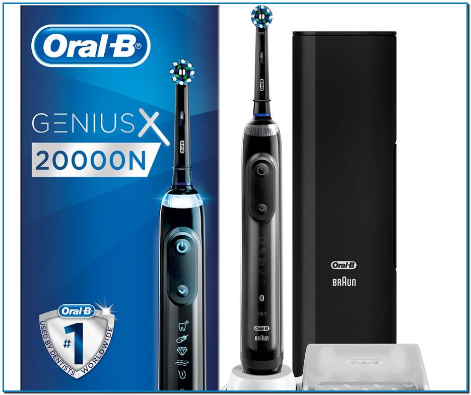 Comprar Oral-B Genius X 20000N Cepillo De Dientes Eléctrico en Andorra Con Tecnología De Braun El Oral-B Genius X 20000N está equipado con sensores de movimiento y con inteligencia artificial para reconocer tu estilo de cepillado